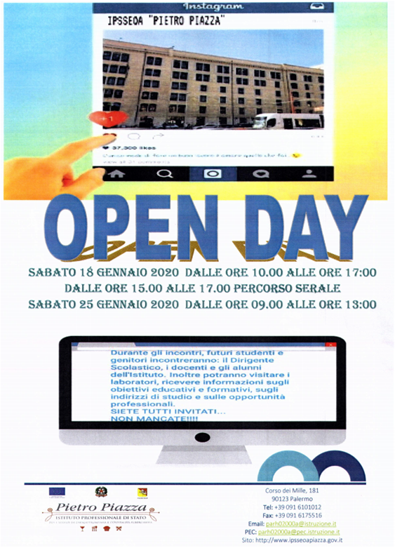open day PIAZZA